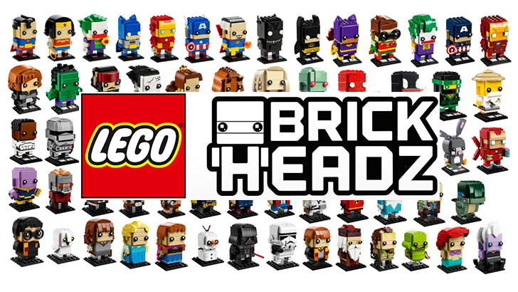 Brickheadz, I used to be a fan.